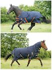 100g Fill Lightweight - Medium Weight Turnout Rug Choose Standard or Combo Neck