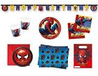 SPIDERMAN HOMECOMING Birthday Party Range (Tableware & Decorations) NEW Qualatex