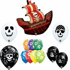 Pirate Themed: Treasure Map, Skull, Pirate Ship Latex & Foil Qualatex Balloons
