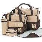 Baby Bag Suits for Moms Fashionable Maternity Bag Nappy Bag Sets