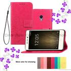 """For HTC 10 Evo Bolt 5.5"""" Luxury Clover Case Flip Cover Wallet Holster PU Leather"""