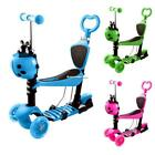 Ancheer Scooter for Kids Child 3-Wheels Adjustable w/LED Wheels Outdoot Sports