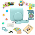 12 Piece Deluxe Accessory Kit for Fujifilm instax mini 9 camera. All-In-1 Bundle