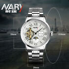 NARY Top Luxury Mens Watches Automatic Mechanical Watch Business Wristwatch