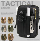 Outdoor Tactical Waist Belt Military Sports Molle Phone Bag Case LG/HTC/Sony