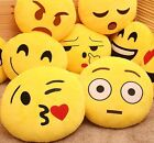 Emoji Pillow Yellow Round Cushion Soft Emoticon Stuffed Plush Toy Doll Poop
