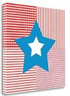 Tangletown Fine Art 'Red White Blue Star' Graphic Art Print on Wrapped Canvas