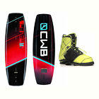 CWB Reverb Demo Wakeboard With LTD Faction Bindings 2017