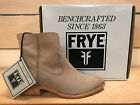 Frye Ray Seam Short Cement Boots