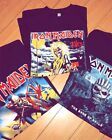 Iron Maiden Trooper The book of souls and Killers Albums T shirts Womens or Mens