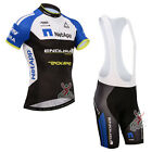 S030 2017 Men's cycling team sports Clothing MTB Bicycle jersey bib shorts Set