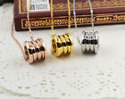 14K Gold Filled Stainless Steel Fashion Jewelry BV Lovers Necklace Pendant Chain