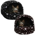 Dog bed/Dog couch/booth,york shih tzu,bone and pow black/brown 2