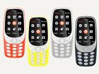 "Dual SIM 2MP Camera Fantastic Unlocked NOKIA 3310 Simple Cellphone 2.4"" languags"
