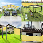 8' FT Waterproof Straight Side Hemmed Sun Shade Sail Canopy Awning Patio Cover