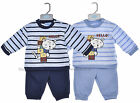 Baby Boys 2 Piece Outfit - Blue or Navy (0-9 Months)