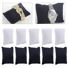 5pcs Watch Bracelet Anklet Jewelry Display Pillow Cushion Holder Showcase