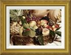 'Boy With Basket of Fruit - Detail' by Caravaggio Framed ...