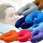 Memory Foam U Shape Travel Pillow Office Car Neck Support Head Rest Cushion Gift