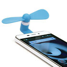 Mini Portable Micro USB Mobile Phone Fan Air Cooling Cooler iPhone Android Phone