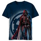 Star Wars Darth Vader Walking Sith Lord Licensed Adult T-Shirt - Blue $15.23 CAD