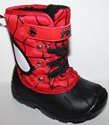 Spiderman NWT Toddler Preschool Boys 8 9 Winter Snow Boots