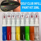 20ML INFILL PAINT FOR GOLF CLUB IRON DRIVER PUTTER WEDGES STAMPING CUSTOM