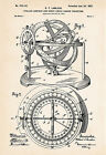 Lawless 1902 Compass Art Drawing Gifts For Boaters Nautical Decor Patent Print