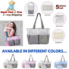 baby diaper bag set handbag tote bag
