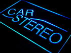 i386-b Car Stereo Audio Auto NEW Neon Light Sign