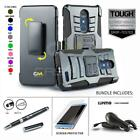 REFINED ARMOR COVER PHONE CASE & HOLSTER CLIP FOR [ZTE BLADE SPARK Z971] +BUNDLE