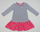 NWT Gymboree Best in Show Toddler Striped Puppy Dress Hot Pink Black 2T 5T NWOT