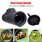HD 40X60 Optical Monocular Telescope Hunting Hiking Outdoor Day + Night Vision image