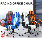 Office Chair Racing Sport Strips Executive Computer Gaming Deluxe PU Leather New