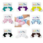 Sock Ons Infant Baby Shower Gift Socks Clothing Accessory Garments 0-6 Months