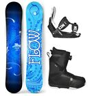2018 FLOW Star 147cm Women's Snowboard+Flow LTD Bindings+Flow BOA LTD Boots NEW