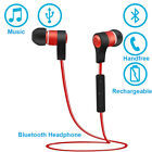 Audio Muic Sports Bluetooth Headset Headphone for iPhone 7 Bicycle Jogging Yoga