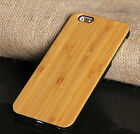 Wood Bamboo Hard Shell Phone Case Cover for iPhone 6/6s 6plus/ 6s plus 7/7 plus