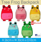 Kids Tree Frog Back Pack Backpack Cotton Canvas Waterproof Small Bag Child Girl