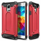 NEW Rugged Dual Layer Armor Protective Case For Samsung Galaxy S5 SV & Neo Cover