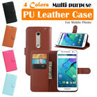 Moto Motorola X Pure Edition Leather Case PSC Cover Skin Wallet Stand Folio