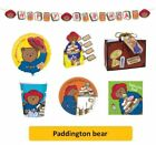 PADDINGTON BEAR - Birthday Party Range - Tableware Balloons & Decorations