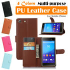 Sony Xperia M5 E5603 E5606 E5653 Leather Case PSC Cover Wallet Card Pouch Stand
