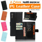 Sony Xperia XZs Leather Case PSC Multi-purpose Cover Wallet Card Stand Folio