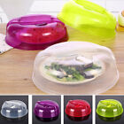Practical Microwave Food Proof Lid Steam Vent Splash Plate Dish Cover Kitchen