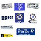 CHELSEA METAL SIGNS (METAL Door Sign, Street Sign)Official Club Merchandise