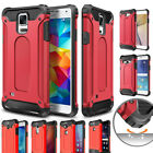 Red Rugged Dual Layer Heavy Duty Hybrid Back Phone Case Shell for HUAWEI Cover