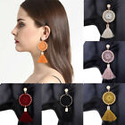 Us Fashion Women Vintage Tassel Dangle Ear Stud Statement Earrings Jewelry