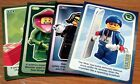 Lego Create the World cards, #1-140, 80p the first one, 50p thereafter, Freepost