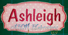 Personalized Name Tag Iron On Applique Patch